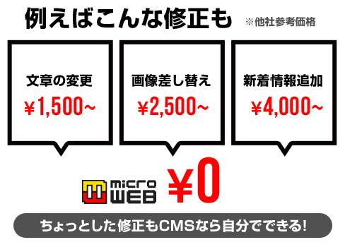 CMSホームページ